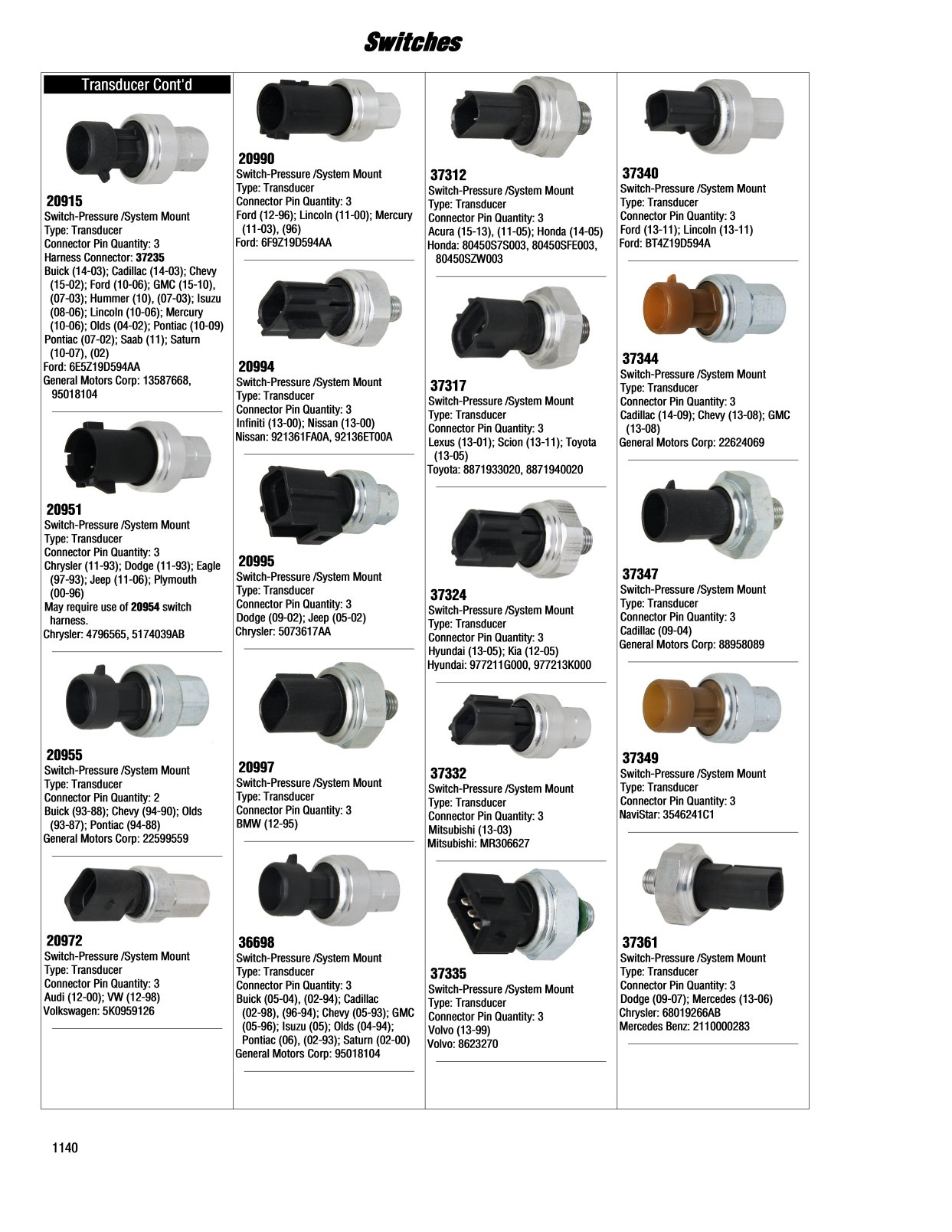 2017 Illustrated Guide - Page 1141 Switches