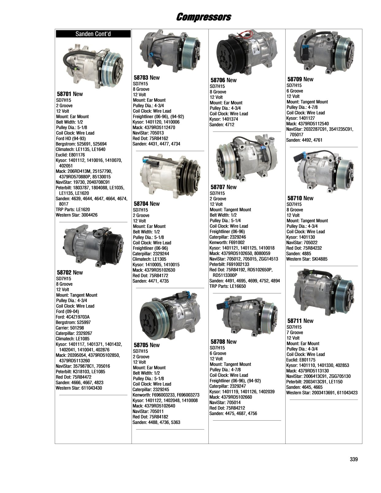 Kysor Cadillac Wiring Diagram 339 Page 2 And Schematics