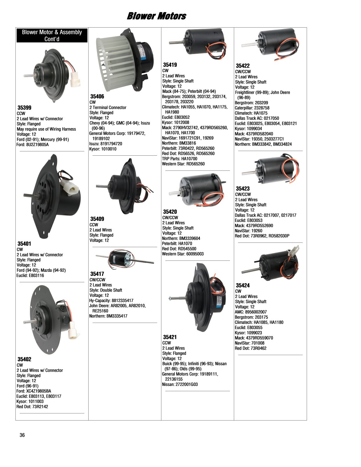 2017 Illustrated Guide Page 35 Blower Motors 1997 Gm Wiring Harness Connector Help