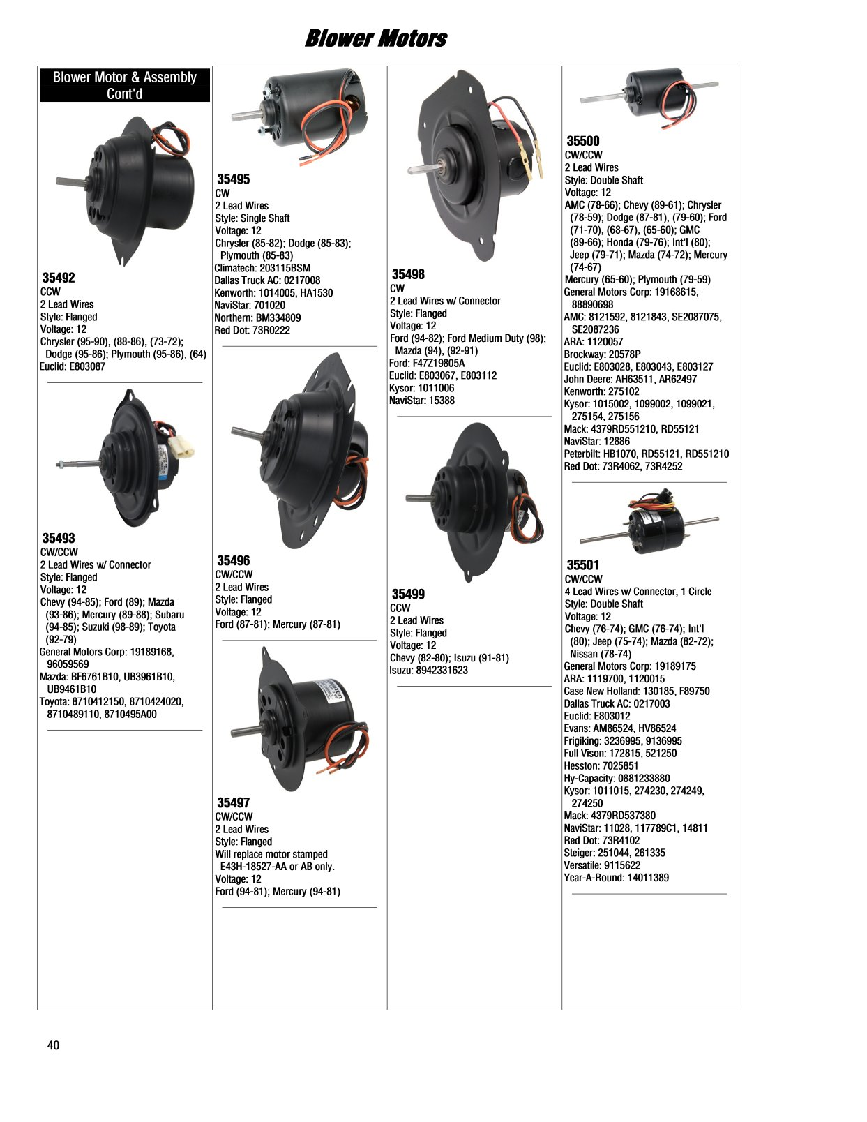Blower Motors 2017 Illustrated Guide Page 40 91 Chevy Ac Wiring