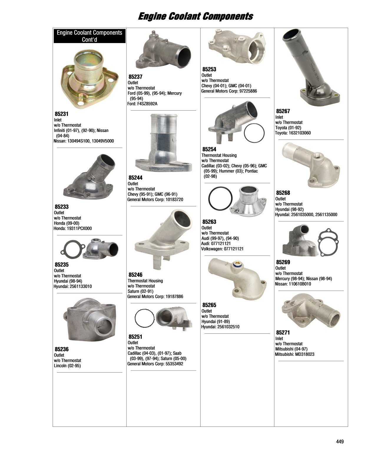 2017 Illustrated Guide Page 449 Engine Coolant Components General